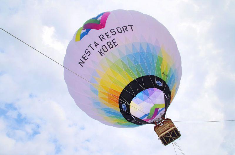 一度は乗りたい熱気球!ネスタリゾート神戸で期間限定夏空の大冒険