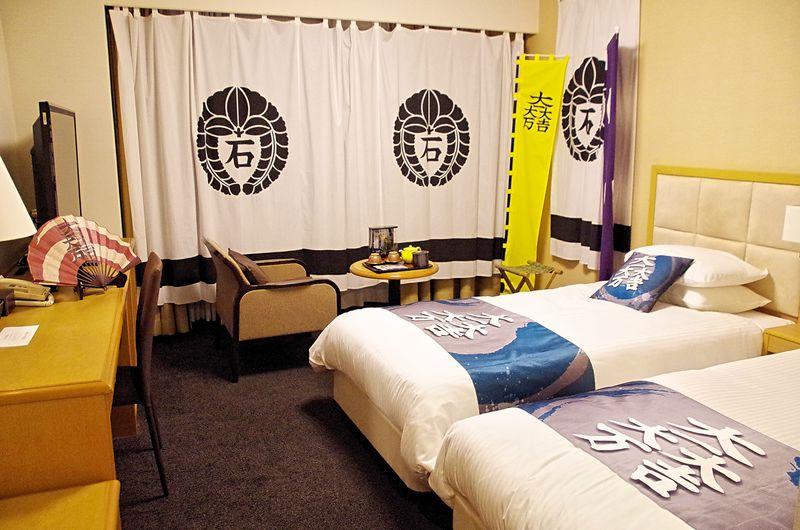 石田三成の本陣で眠る!彦根観光の宿は「ホテルサンルート彦根」へ