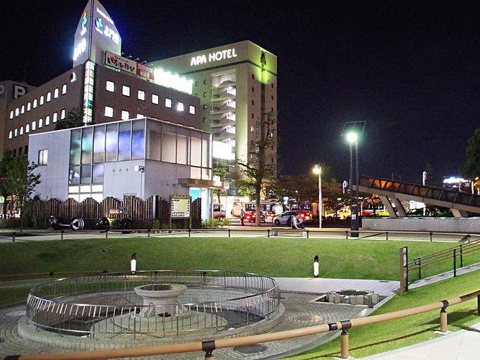 1日目夜:大垣駅南口から徒歩1分「アパホテル〈大垣駅前〉」