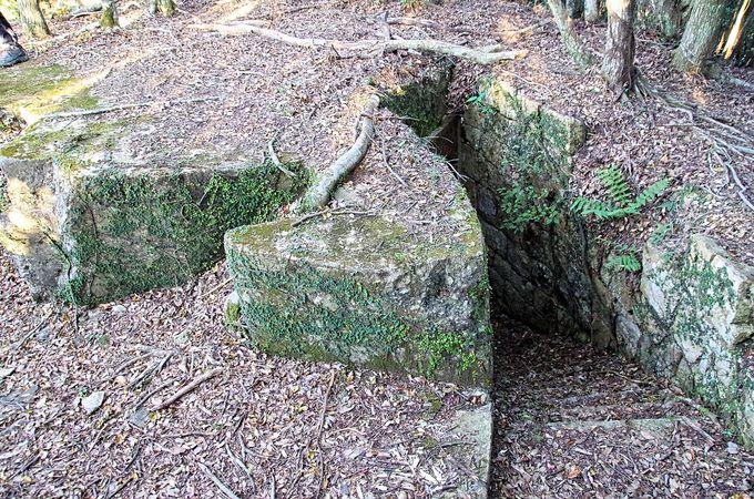 明治期からは旧日本陸軍の要塞「城山砲台」に