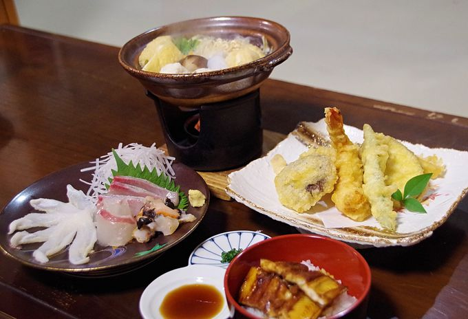 北の玄関口・比田勝なら「アナゴ料理」