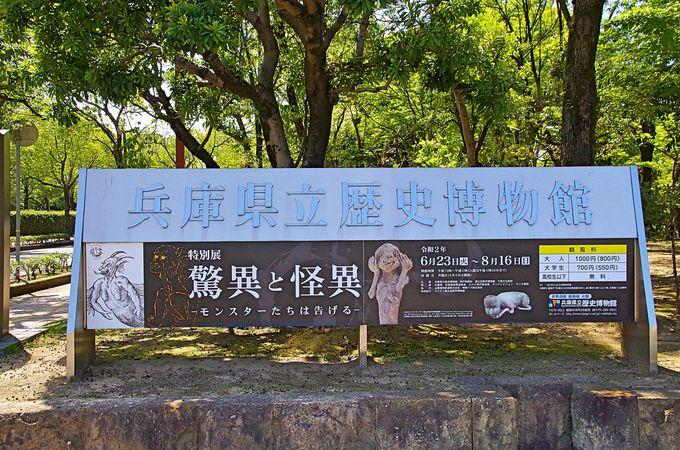 兵庫県立歴史博物館に世界の怪物達が集結!