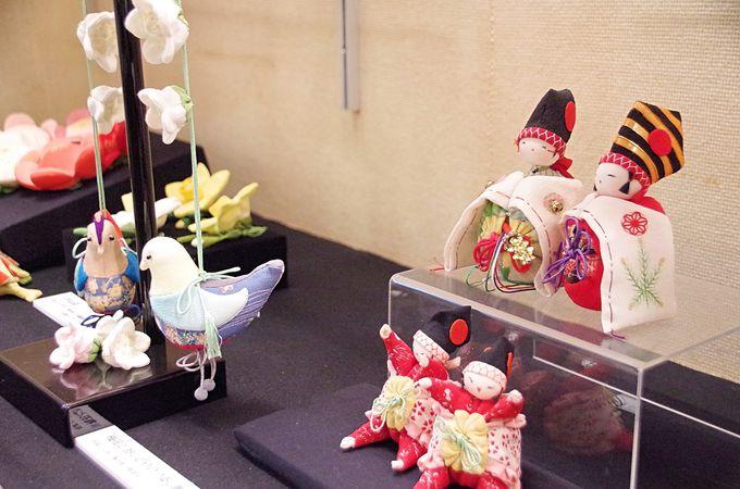 日本玩具博物館を支える「ちりめん細工」