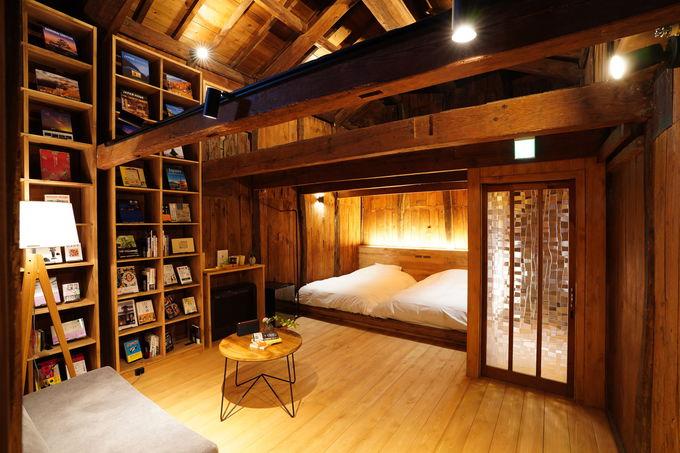 指定文化財の部屋はテレビも時計もない本の部屋