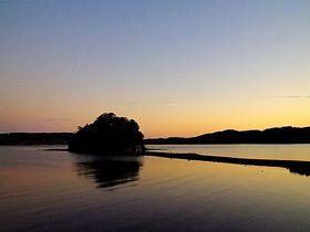 壱岐「内海湾」パワースポット小島神社と長寿牡蠣で神の恵みを
