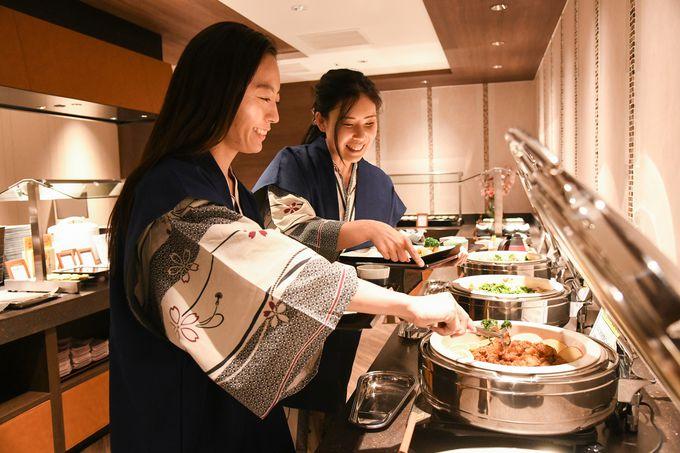 兵庫の食材をふんだんに使った料理も魅力