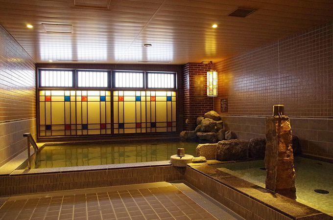 西日本最大級の高温サウナを備えた大浴場