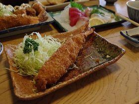 プリップリの刺身と名物ジャンボエビフライ!愛知県南知多町『まるは食堂』