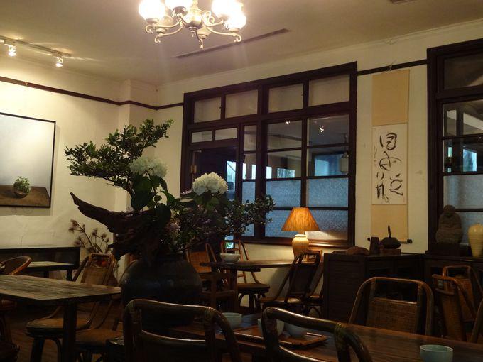 日本家屋の面影を残す空間