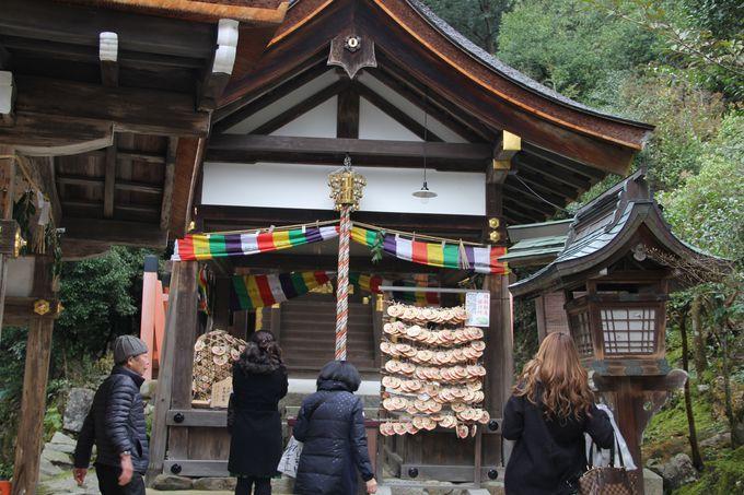 紫式部もお参りした!上賀茂神社、片岡社(かたおかのやしろ)で良縁祈願!