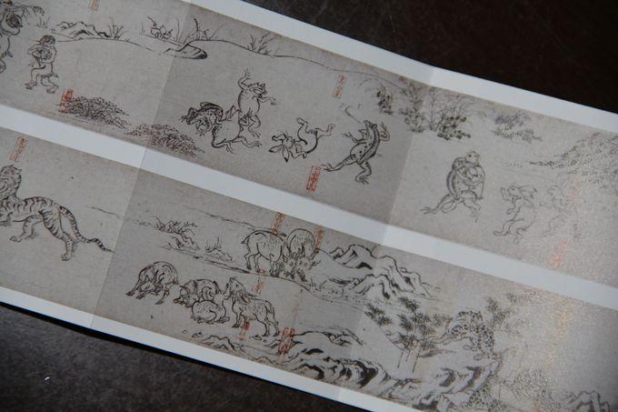 """獣も人間も生き生き描かれた""""鳥獣人物戯画""""は日本最古の漫画!"""