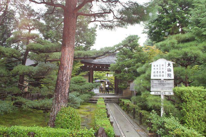 千利休と深〜い関係の名刹「大仙院」は石庭がすごい!!