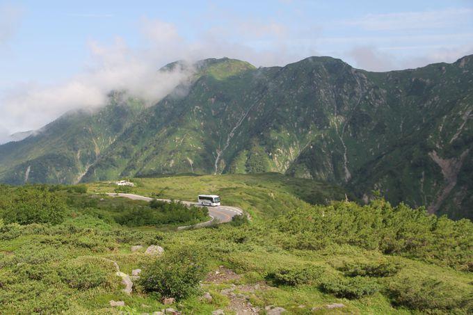 標高差約1500mを走る《立山高原バス》は大自然の見どころ満載!!