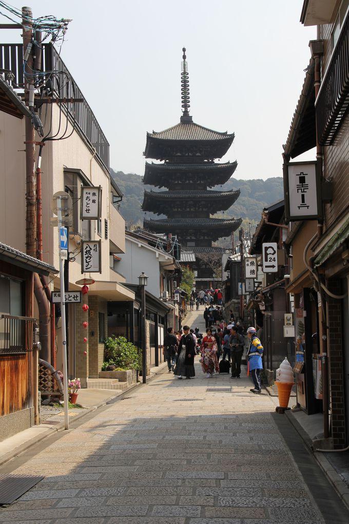 「てくてく京都」から「清水寺」へは徒歩5分‥‥着物率の高さナンバーワンの世界遺産!