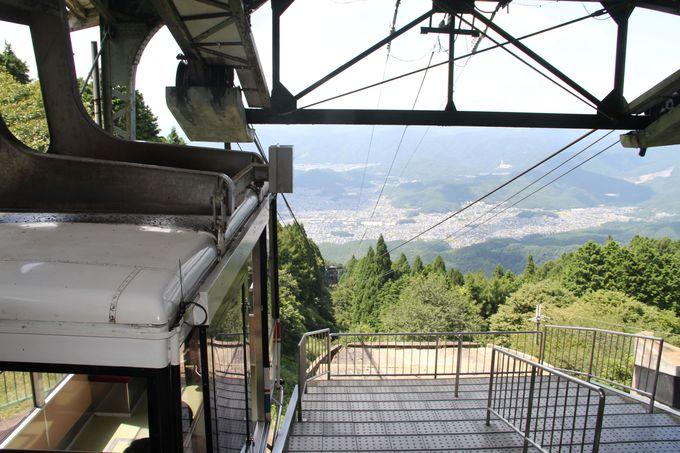 「叡山ロープウェイ」で京都市街一望の空中散歩!