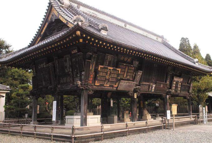 歌舞伎とも縁が深い新勝寺