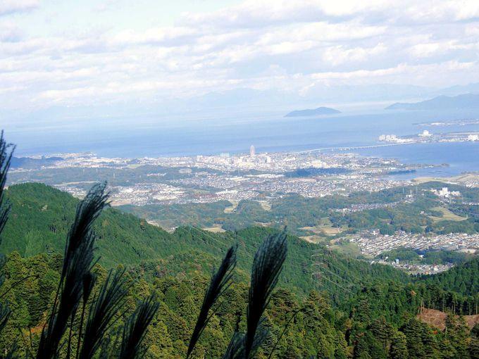 絶景の琵琶湖を望む大パノラマを楽しんで