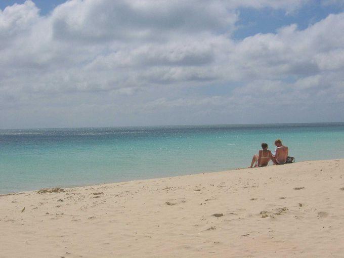 きれいな海をボーっと眺めていたい