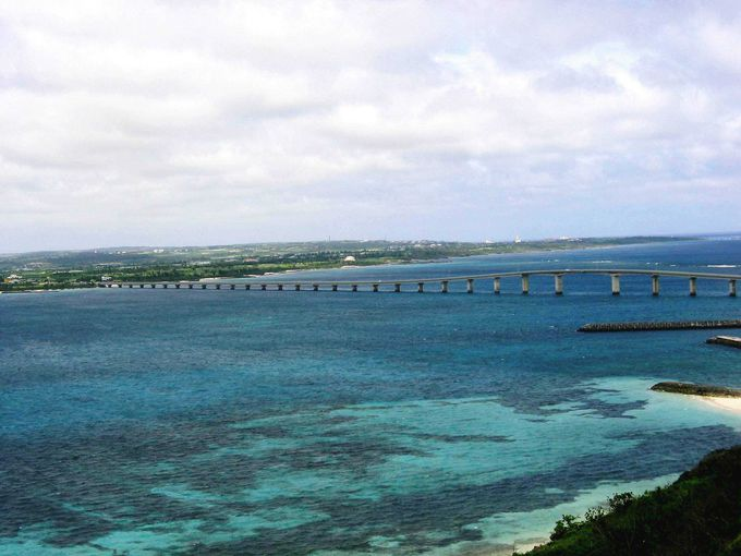 宮古島も来間島も一望できるビュースポット
