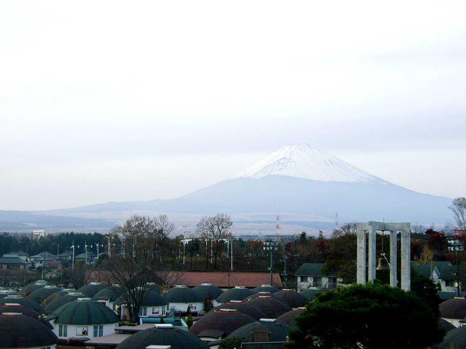 富士山と共にイルミネーションをぜひ
