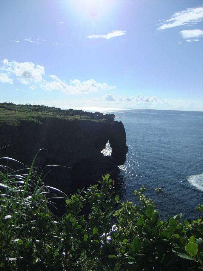 1日目:岩が象の鼻の形!眺望抜群の景勝地「万座毛」
