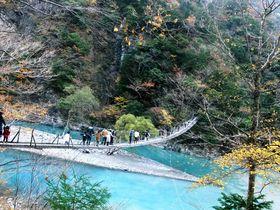 世界のベスト10にランクインした日本屈指の吊り橋とは!?