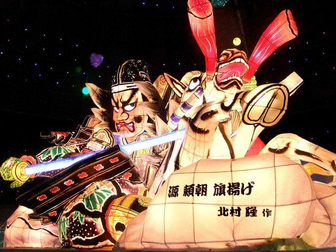 今年は迫力満点の青森県「ねぶた」とのコラボが必見!