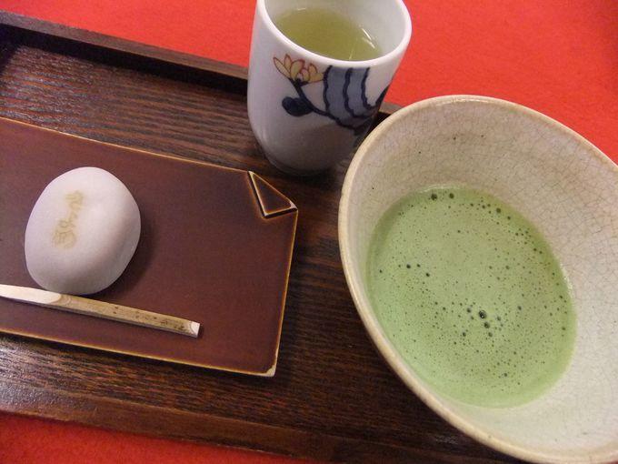 熱田神宮境内でちょっと一服「お休み処 清め茶屋」