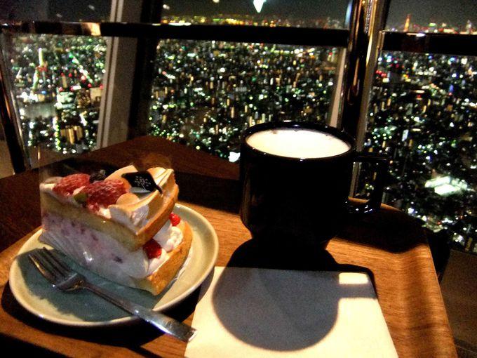 日本一高い場所にあるカフェでひと休み
