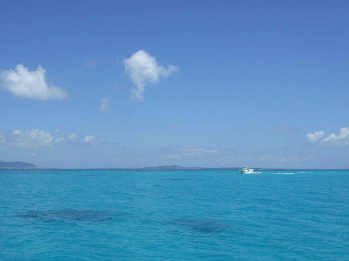 ハート型の島で日常生活をリセット「黒島」