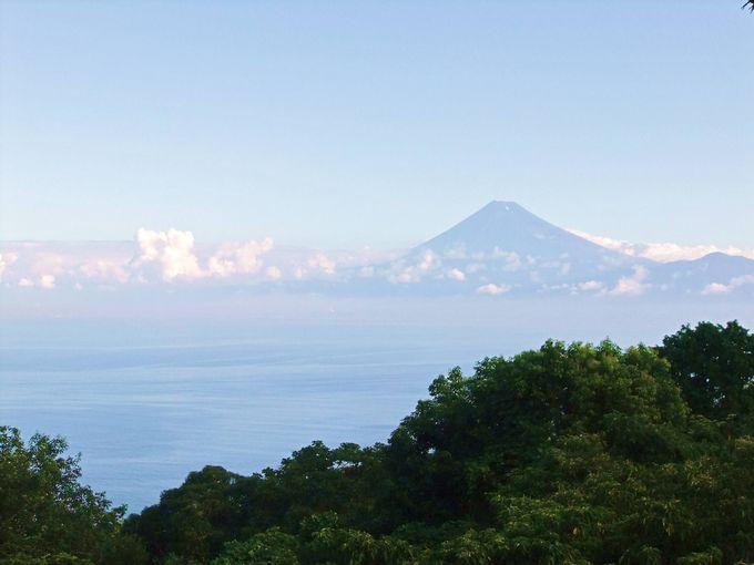 世界文化遺産の富士山を望む駿河湾は日本一深い海!