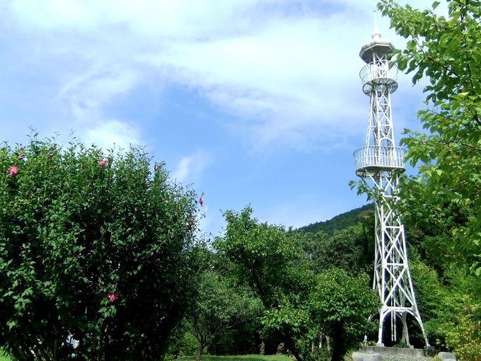 久保田農園への目印は「旧岩淵火の見櫓(きゅういわぶちひのみやぐら)」