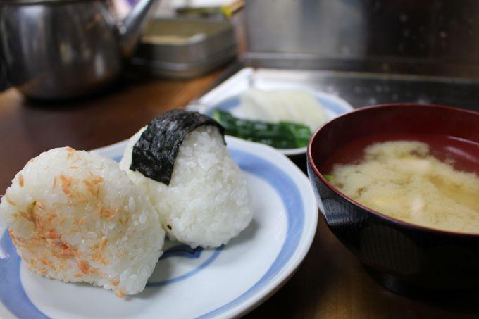 お得な朝食セットは300円!