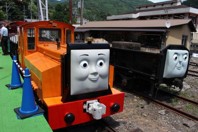 ラスティーがひっぱる遊覧貨車が面白い!
