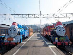 大井川鐵道のトーマス号クリスマス特別運転をめいっぱい楽しもう!
