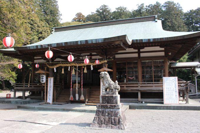 掛川城の北東に位置する守護神「龍尾神社」