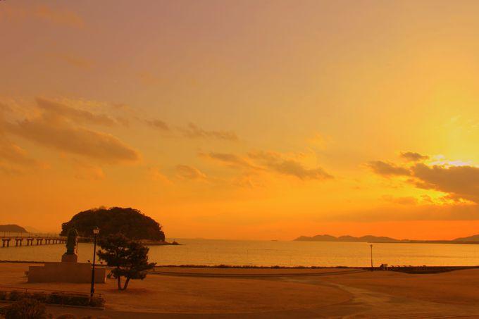 竹島の周りを散策しよう