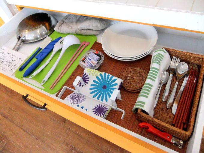 全室キッチン&広々収納スペースのある充実した室内設備