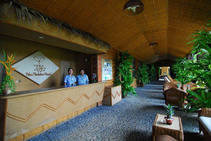 パラオの大自然にとけこむリゾートホテル