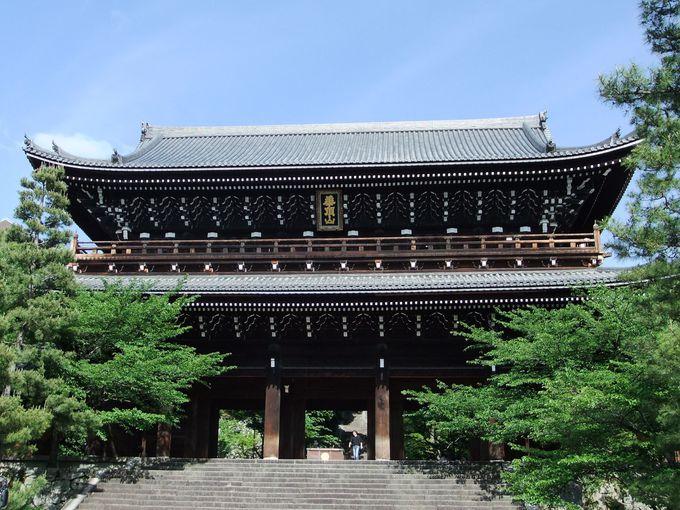 高さ22mもある南禅寺三門