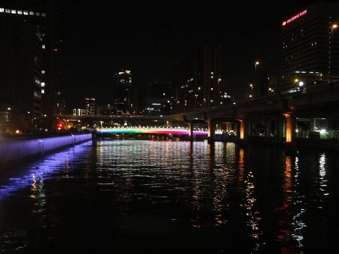 「水の都 大阪」を象徴する橋も美しくライトアップ!