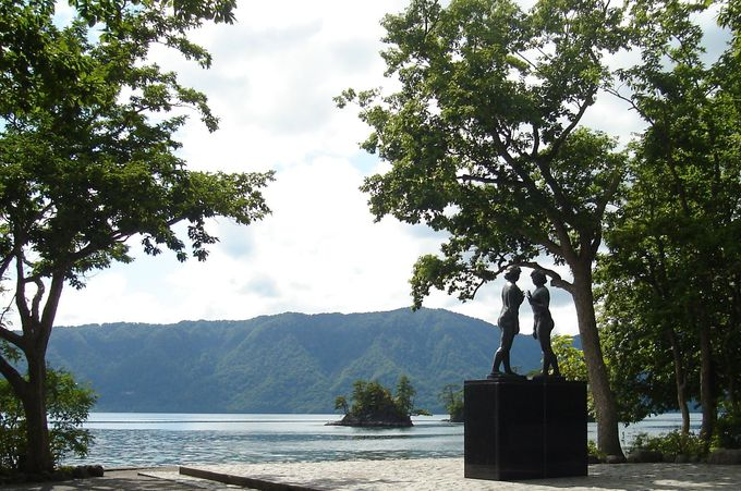 十和田神社から青龍大権現の住む十和田湖へ