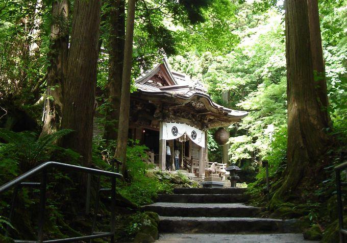 日本武尊と青龍大権現を祀る十和田神社