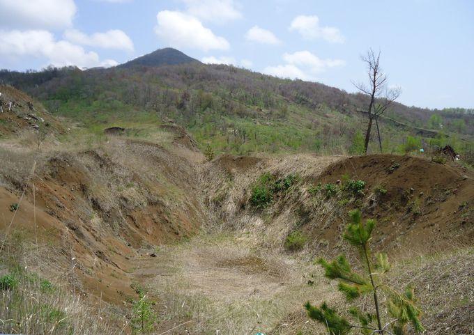 2000年3月31日、北海道の有珠山噴火