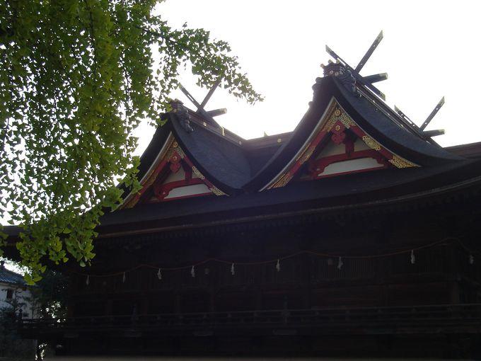 全国で唯一の様式の社殿「吉備津造り」