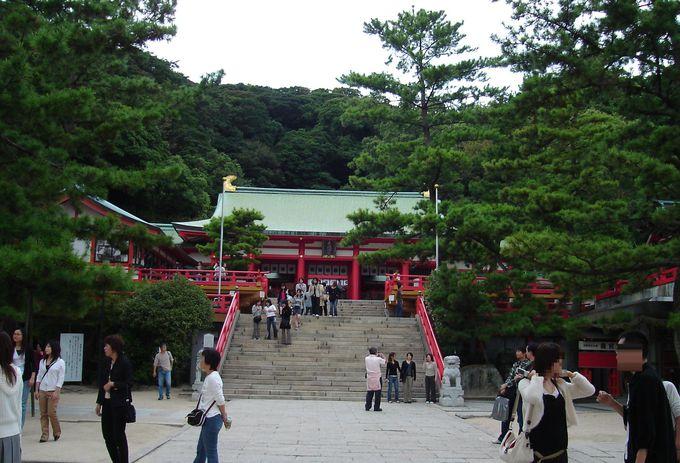 もともと赤間神宮は安徳天皇を弔うお寺・阿弥陀寺だった