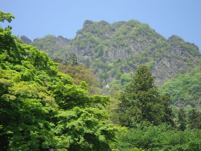 日本三大奇勝のひとつの妙義山