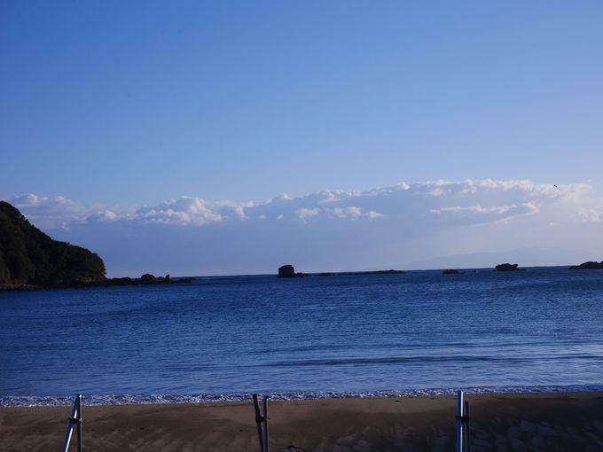 下田の外浦海岸に建つ愛犬家のためのお宿