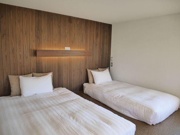 それぞれ趣が異なる客室は予約する時の部屋選びも楽しい