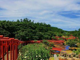 ここは現世?絶景の神苑千本鳥居と龍神宮 津軽「高山稲荷神社」